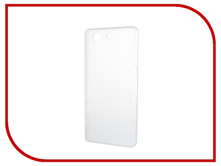 ��������� �����-�������� Sony Xperia Z3 Compact BROSCO Super Slim ����������� White Z3C-BACK-04-WHITE