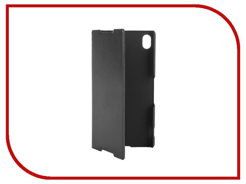 Аксессуар Чехол-книжка Sony Xperia Z3+ BROSCO PU Black Z3PLUS-BOOK-BLACK<br>