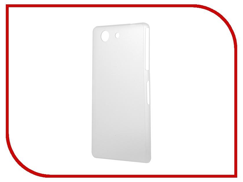 Аксессуар Чехол-накладка Sony Xperia Z3 BROSCO Super Slim пластиковый White Z3-BACK-04-WHITE<br>