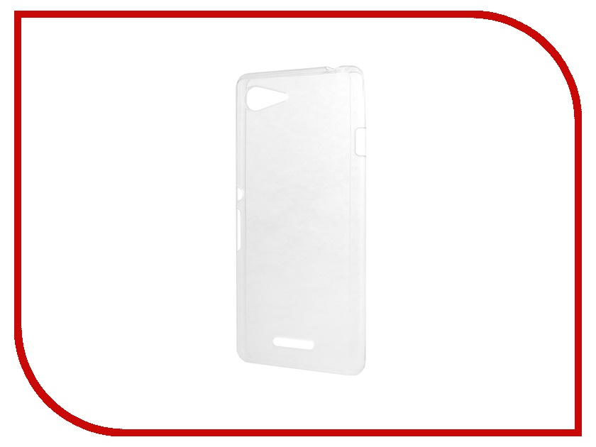 Аксессуар Чехол-накладка Sony Xperia E3 BROSCO силиконовый Transparent E3-BACK-02-TRANSPARENT<br>