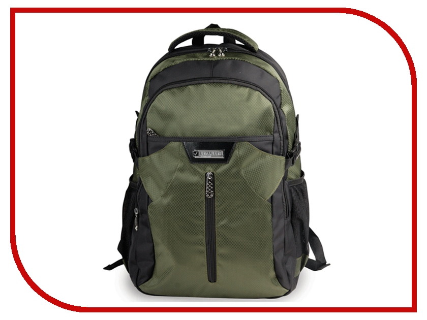 Рюкзак BRAUBERG SR-2 Black-Green 224450