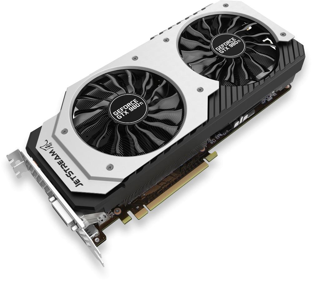 Видеокарта Palit GeForce GTX 980 Ti 1152Mhz PCI-E 3.0 6144Mb 7000Mhz 384 bit DVI HDMI HDCP NE5X98TH15JB-2000J<br>