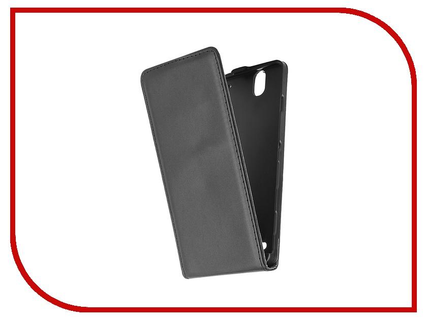 Аксессуар Чехол-флип Sony Xperia C4 BROSCO Black C4-FLIP-BLACK<br>