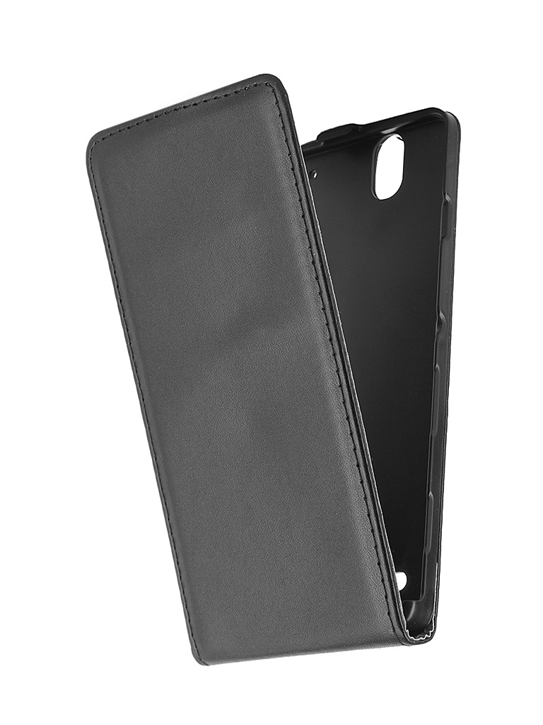 Аксессуар Чехол-флип Sony Xperia C4 BROSCO Black C4-FLIP-BLACK