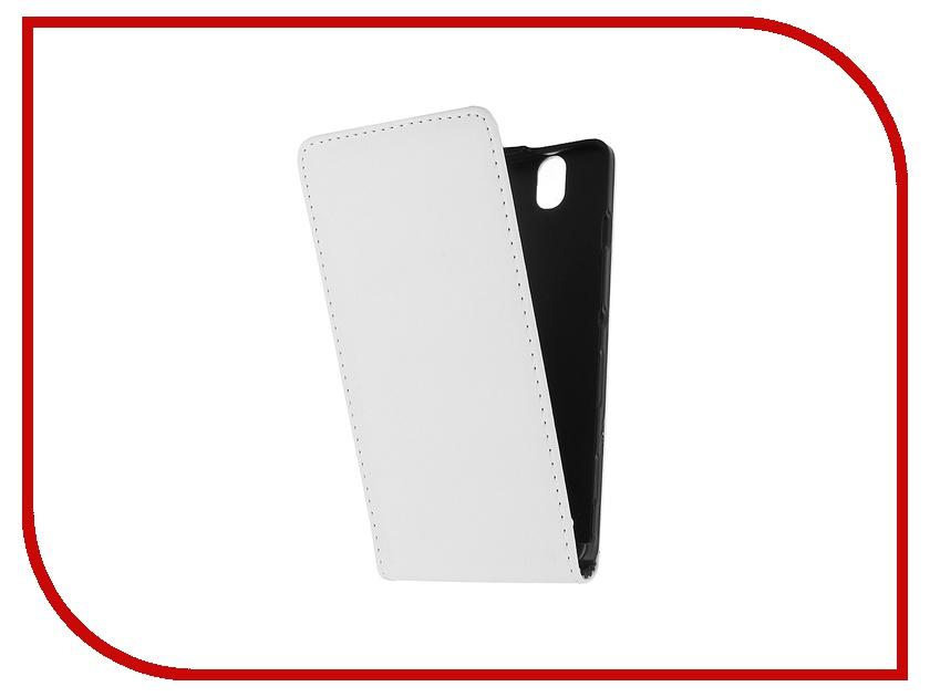 Аксессуар Чехол-флип Sony Xperia C4 BROSCO White C4-FLIP-WHITE<br>