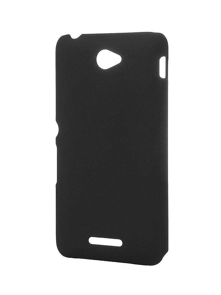 Аксессуар Чехол Sony Xperia E5 BROSCO White E5-SOFTTOUCH-WHITE