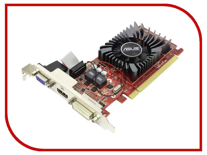 Видеокарта ASUS Radeon R7 240 770Mhz PCI-E 3.0 4096Mb 1800Mhz 128 bit DVI HDMI HDCP R7240-OC-4GD3-L<br>