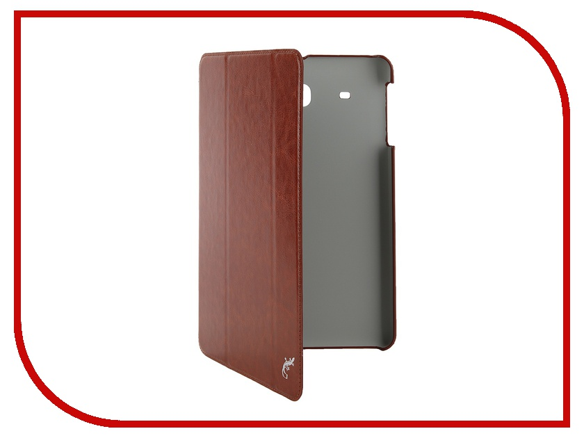 Аксессуар Чехол Samsung Galaxy Tab E 9.6 G-Case Slim Premium Brown GG-638<br>