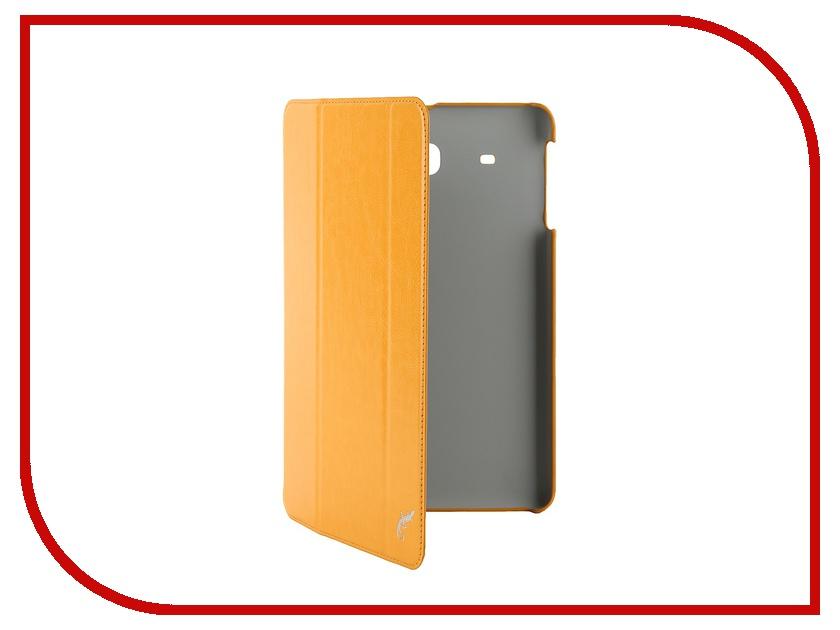 Аксессуар Чехол Samsung Galaxy Tab E 9.6 G-Case Slim Premium Orange GG-641<br>