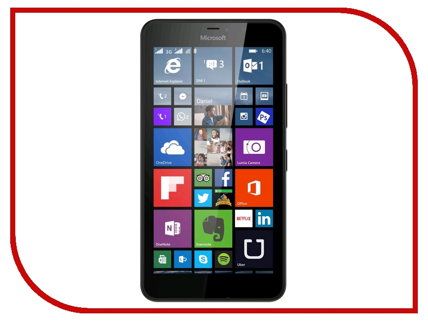 Аксессуар Защитное стекло Microsoft Lumia 640 AUZER AG-MIL640<br>