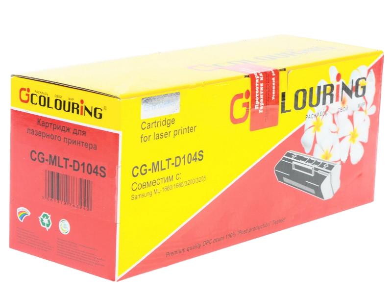 Аксессуар Colouring CG-MLT-D104 / CG-MLT-D104S для Samsung ML-1666/1660/1661/1665/1676/1670/1673/1674/1678/1860/1861/1865W/SCX3201/3206/3217/3218/3200/SCX-320