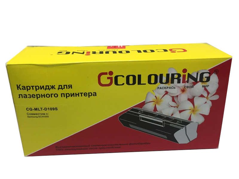 Аксессуар Colouring CG-MLT-D109S для Samsung SCX-4300