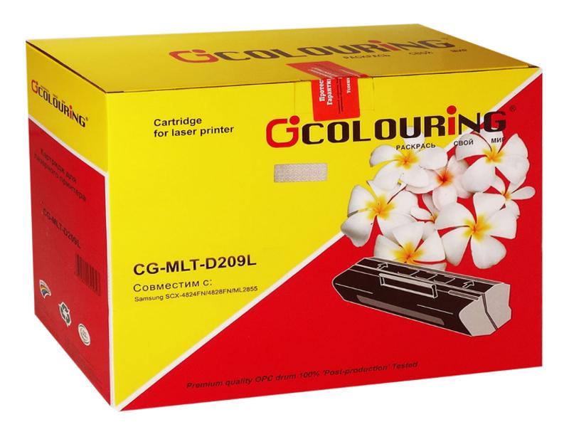 Картридж Colouring CG-MLT-D209L для Samsung ML-2853ND/2855ND/SCX-4824HN/4824FNK/4824FHNK/4825FN/4826FN/4828FN/4828FNK/4828HN<br>