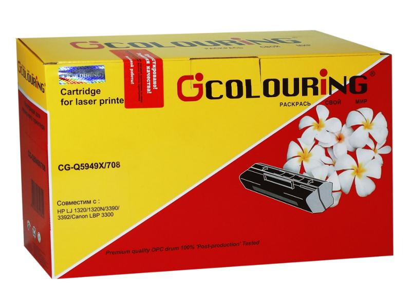 Аксессуар Colouring CG-Q5949X/708 для HP LJ 1320/1320N/3390/3392/Canon LBP3300