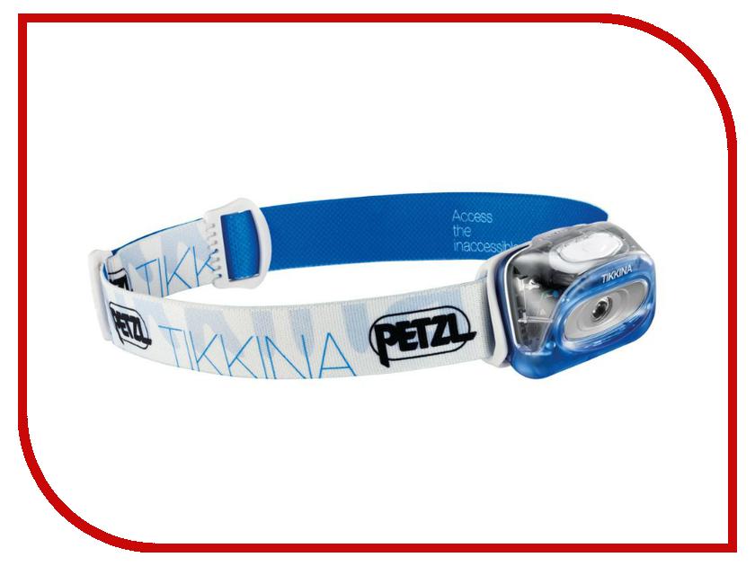 Фонарь Petzl Tikkina E91 HMA Blue<br>