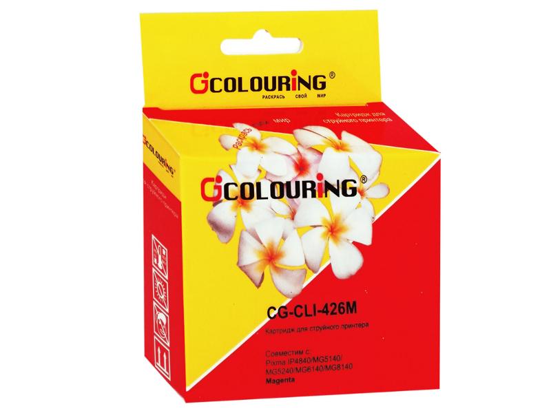 Аксессуар Colouring CG-CLI-426M Magenta для Canon IP4840/MG5140/MG5240/MG6140/MG8140
