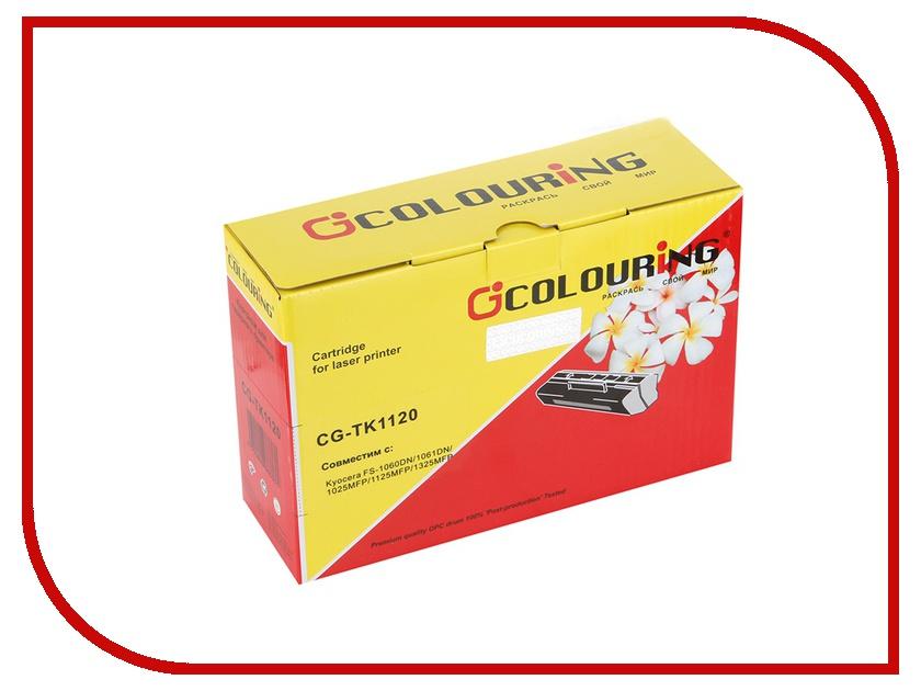 Картридж Colouring CG-TK-1120 для Kyocera FS-1060DN/1125MFP/1025MFP картридж colouring cg tk 1120 для kyocera fs 1060dn 1125mfp 1025mfp
