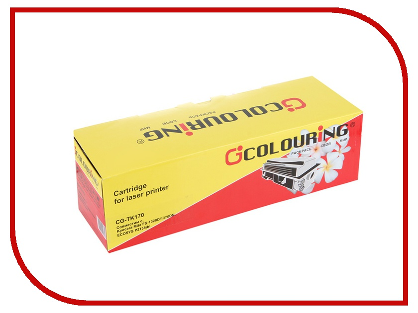 Картридж Colouring CG-TK-170 для Kyocera Mita FS-1320D/1370DN<br>