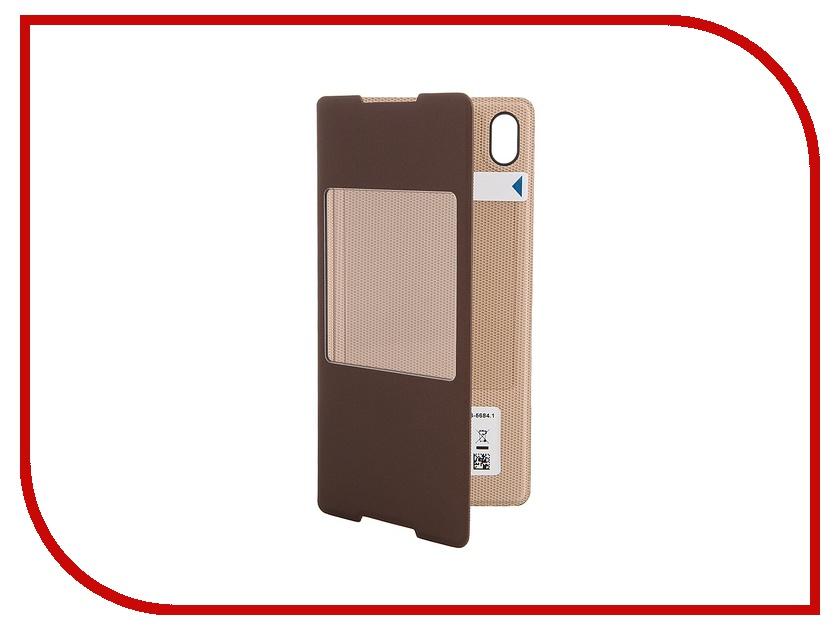 Аксессуар Чехол Sony Xperia Z3+ Style Cover Window SCR30 Cooper<br>