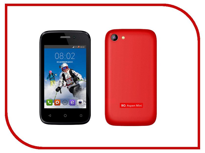 Сотовый телефон BQ BQS-3510 Aspen Mini Red