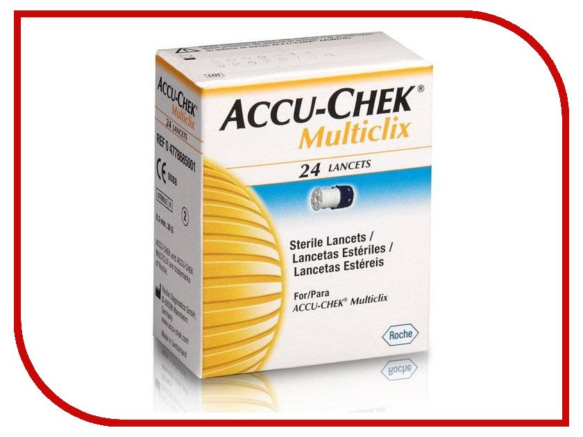 Аксессуар Accu-Chek Multiclix 24шт ланцеты<br>