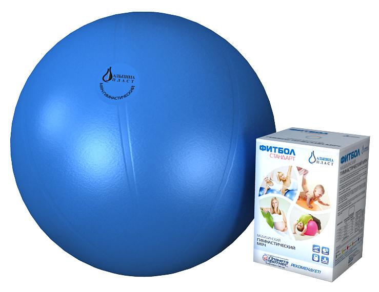 Фитбол Альпина Пласт Стандарт 65cm Blue 4020651062