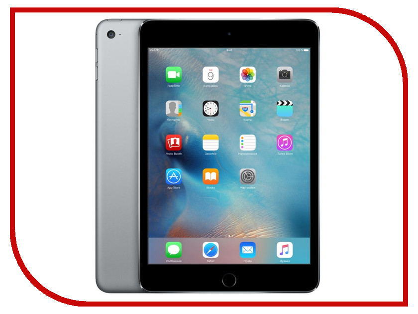 Планшет APPLE iPad mini 4 64Gb Wi-Fi Space Gray MK9G2RU/A