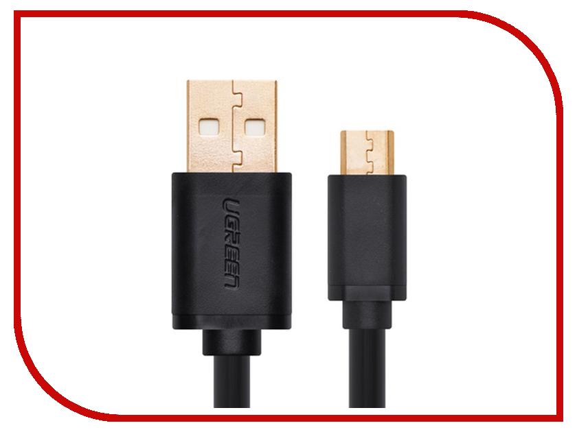Аксессуар Ugreen Premium USB 2.0 to Micro USB 0.5m Black UG-10835