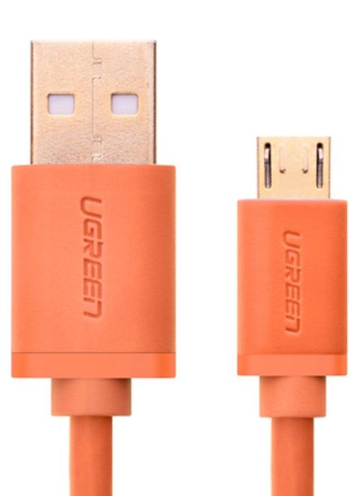 Аксессуар Ugreen Premium USB 2.0 to Micro USB 1m Orange UG-10864