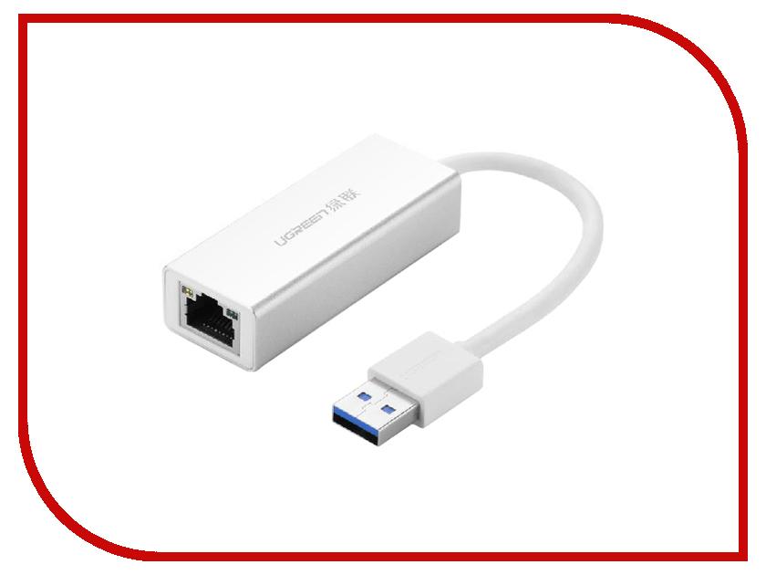 Аксессуар Ugreen UG-20258 USB 3.0 LAN RJ-45 Giga Ethernet Card<br>