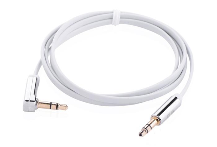 Аксессуар Ugreen 3.5 Jack/M - 3.5 Jack/M 1.5m White UG-10760