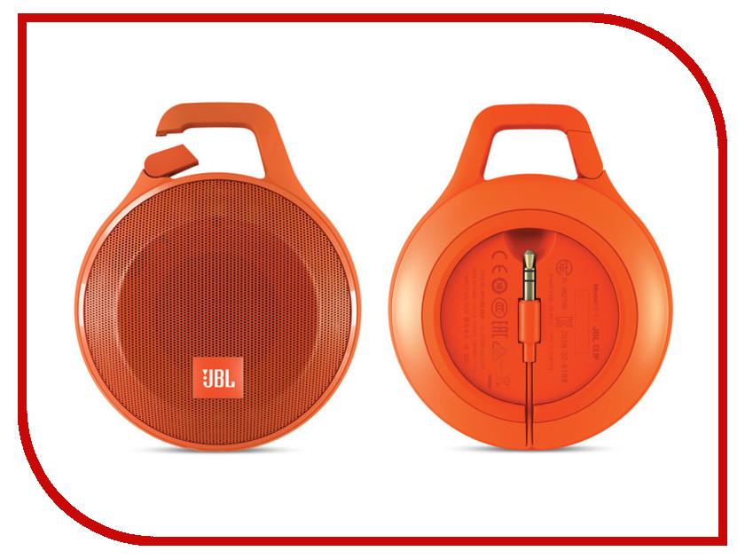 Колонка JBL Clip Plus Orange<br>