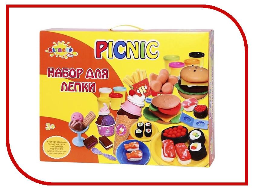 Набор для лепки Altacto Clay Праздничный пикник 8 цветов
