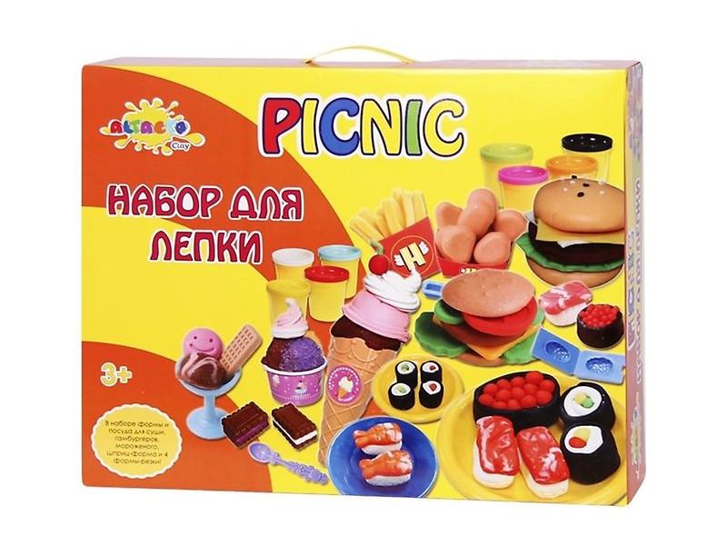 Набор для лепки Altacto Clay Праздничный пикник 8 цветов цены онлайн