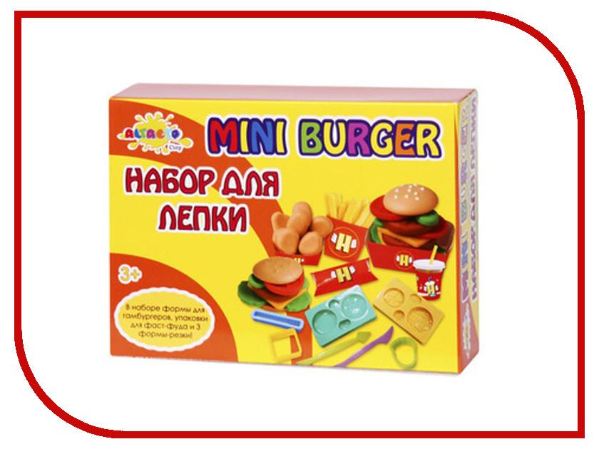 Набор для лепки Altacto Clay Волшебство кулинарии - Мини-Бургер 4 цвета skwooshi набор для лепки с аксессуарами бургер