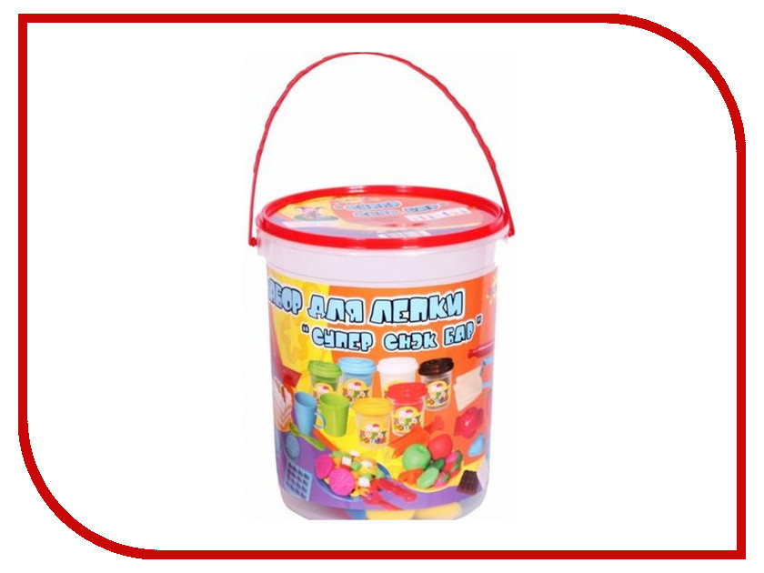 Набор для лепки Altacto Clay Суперснэк - Бар 6 цветов altacto набор для лепки winx волшебное кафе