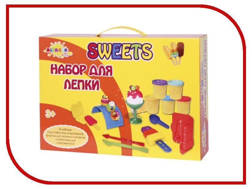Набор для лепки Altacto Clay Волшебство кулинарии - Десерт 6 цветов