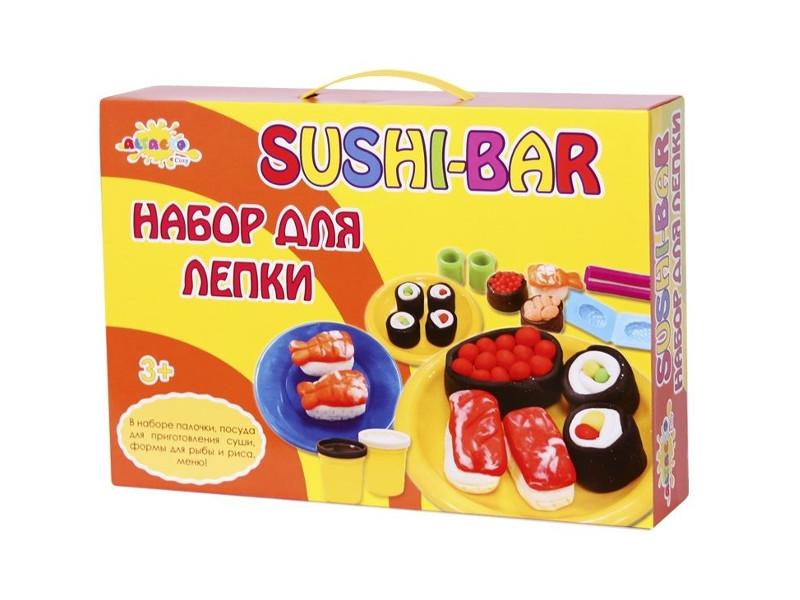 Набор Altacto Clay Набор для лепки Волшебство кулинарии - Суши-Бар 5 цветов<br>