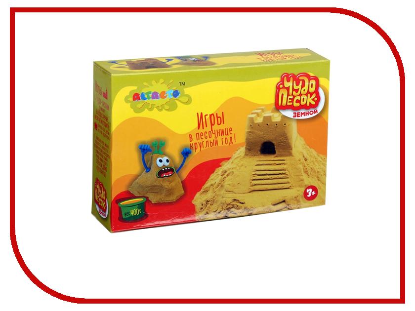 Набор для лепки Altacto Creative Чудо-песок Земной 400г малыш динозавр alt0401 102 altacto
