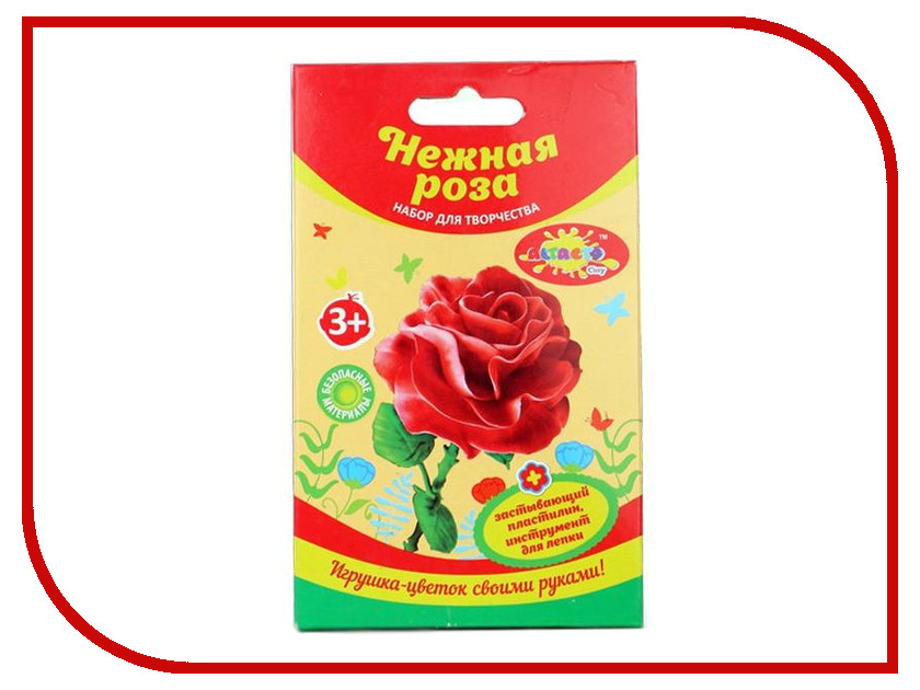 Набор для лепки Altacto Clay Набор пластилина Нежная роза 37г 2 цвета<br>