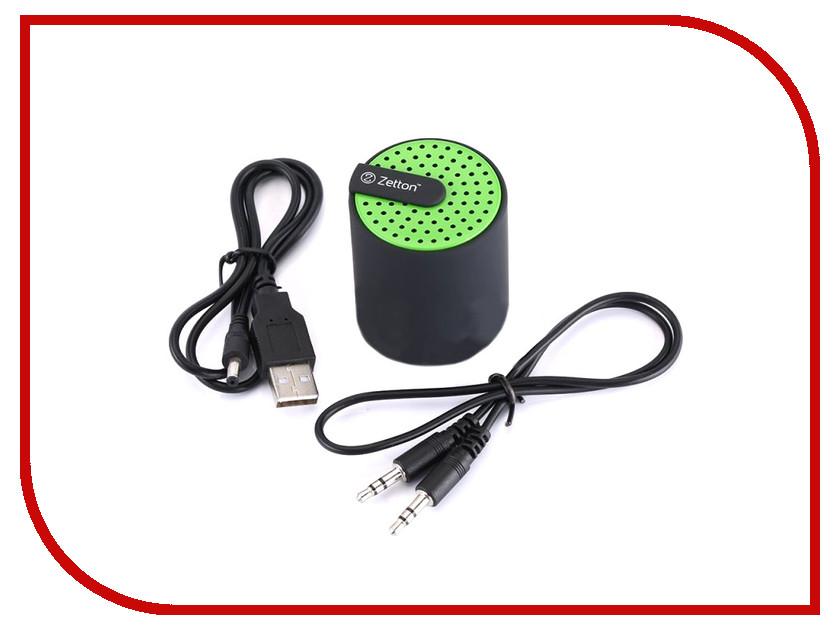 Колонка Zetton Cylinder Black-Green ZTLSBSCYLBG