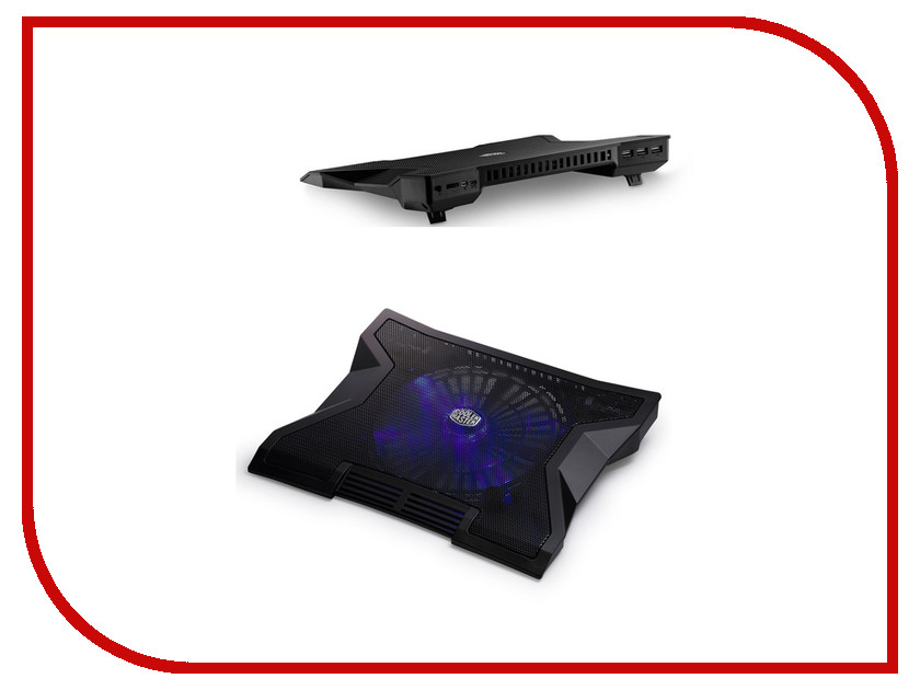 Аксессуар Cooler Master NotePal XL Black R9-NBC-NXLK-GP<br>