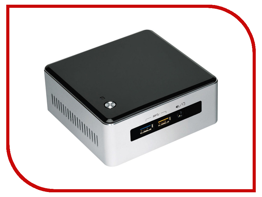 Неттоп Intel NUC kit BOXNUC5I5RYH<br>