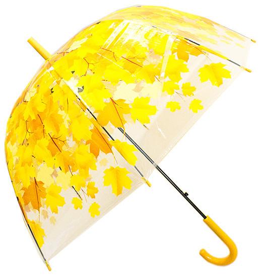 Зонт Эврика Листья Yellow 96567