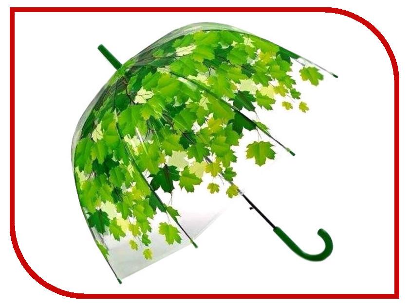 Зонт Эврика Листья Green 96566