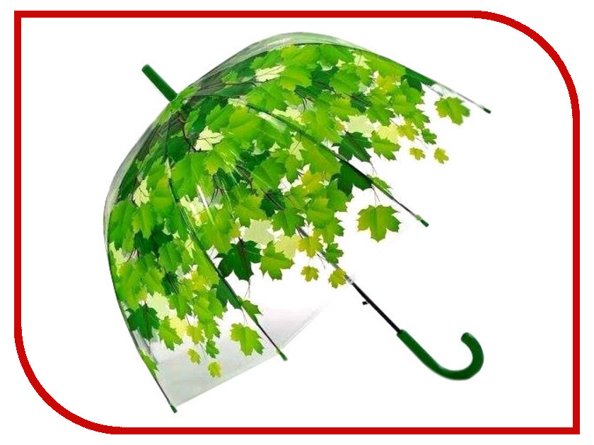 Зонт Эврика Листья Green 96566 зонт эврика 94861 white