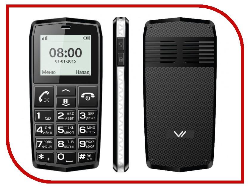 Сотовый телефон Vertex C301 Black<br>