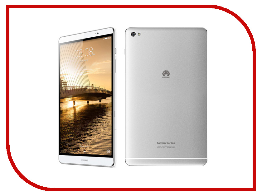 Планшет Huawei MediaPad M2 8.0 16Gb LTE M2-801L Silver 53015038 (Kirin 930 2.0GHz/2048Mb/16Gb/GPS/LTE/Wi-Fi/Bluetooth/Cam/8.0/1920x1200/Android) [randomtext category=