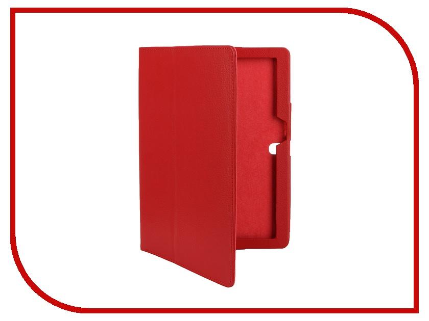 Аксессуар Чехол Lenovo Tab 2 A10-70 10.0 IT Baggage иск. кожа Red ITLN2A102-3