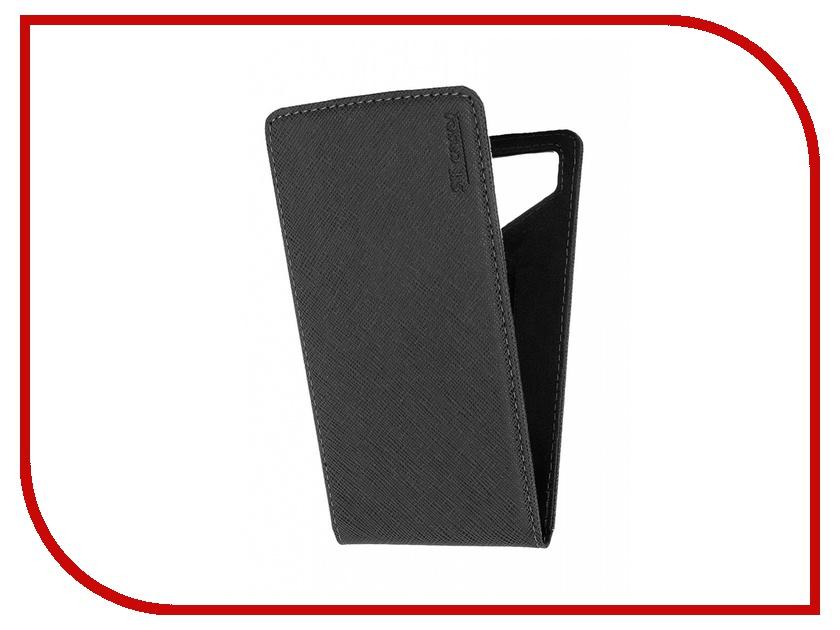 Аксессуар Чехол ST Case 5.5-6 иск.кожа Black ST c –SMFL5.5-6-BLK-LTH